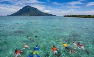 Bunaken destinasi wisata terpopuler di Indonesia
