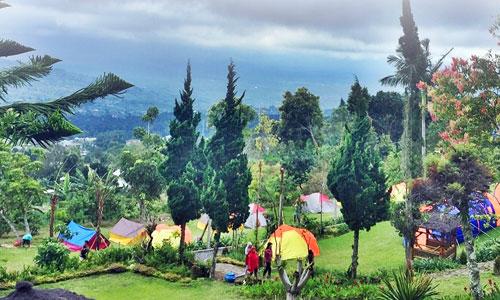 Camping di Agro Wisata Puncak Bukit Catu