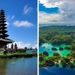 Destinasi wisata terpopuler di Indonesia
