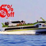 Diskon tiket fast boat ke Gili Trawangan