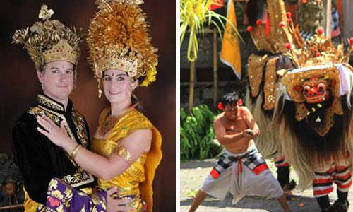 Foto pakaian adat Bali – Ubud Tour