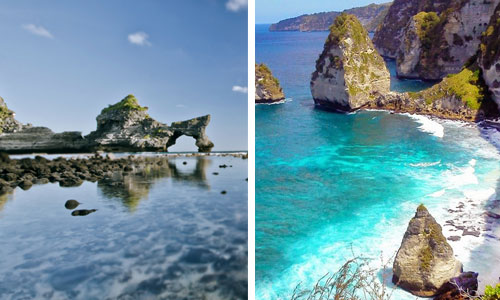 Paket Nusa Penida Tour – tujuan ke arah Timur