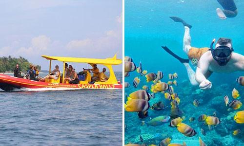 Paket snorkeling Tour di Nusa Penida