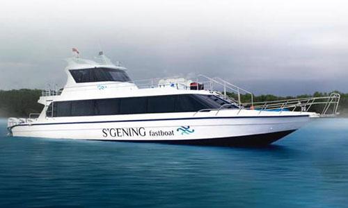 S'Gening Fast Boat dari Bali ke Nusa Penida