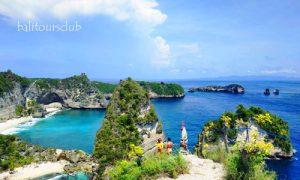Objek wisata Raja Lima Nusa Penida