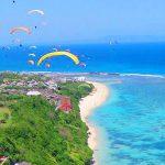 Tempat Paralayang di Bali