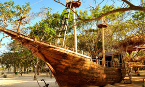 The Pirates Bay di Nusa Dua Bali