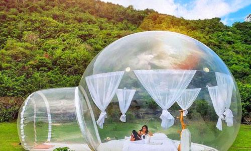 Bubble Hotel - Penginapan unik di Bali