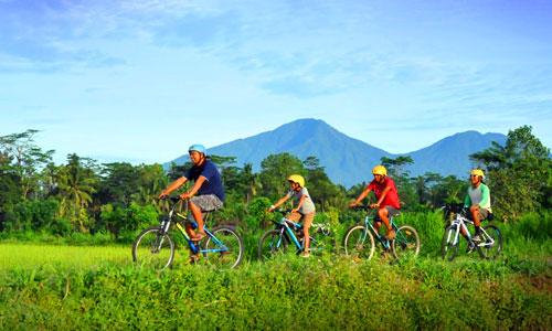 Cycling tour di Basangbe Adventure Park Tabanan