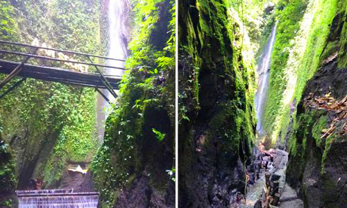 Objek wisata air terjun - Aan Secret Waterfall Klungkung
