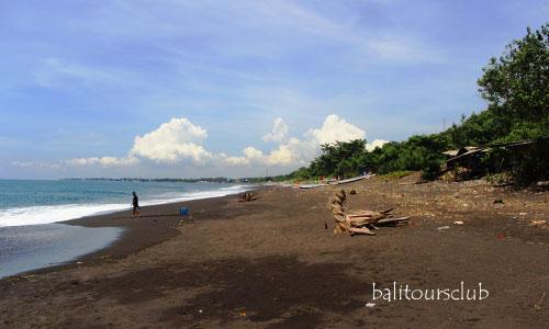 Objek wisata pantai wates di Yeh Malet
