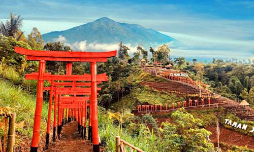 Objek wisata Taman Jinja Bali