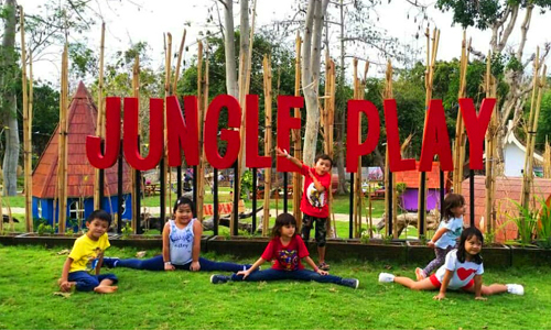 Taman bermain Jungle Play Bali