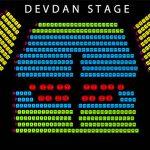 stage dan posisi tempat duduk Devdan Show Nusa Dua