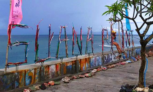 Objek wisata Suana Point di Nusa Penida