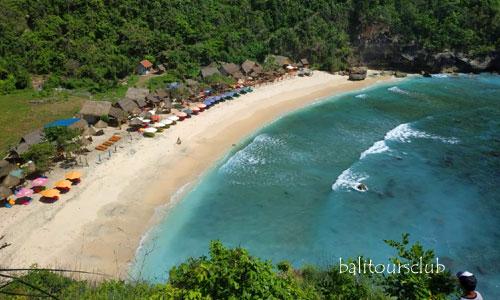 Objek wisata pantai populer di Nusa Penida