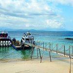 Pelabuhan Sampalan di Nusa Penida