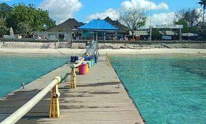 Pelabuhan Sampalan di Nusa Penida Klungkung Bali