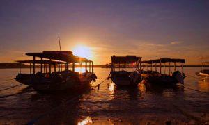 Sunset di Pelabuhan Toya Pakeh