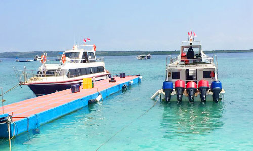 Dermaga Banjar Nyuh Nusa Penida