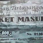 Harga tiket masuk ke Tirta Gangga