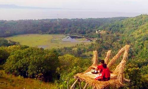 Objek wisata Ceeng Hill di Karangasem