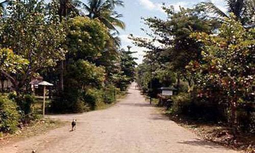 Sejarah Kuta Bali - jalan Legian
