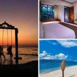 Hotel di pinggir pantai Gili Trawangan