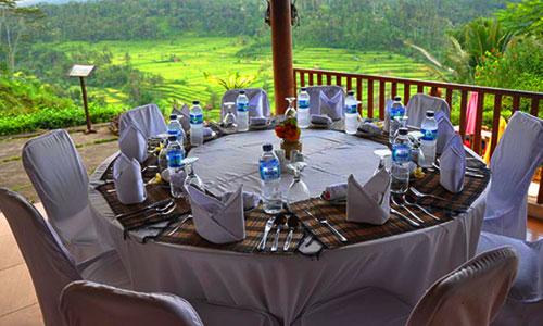 Mahagiri Restaurant di Rendang Bali