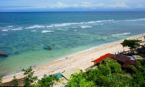 Objek wisata Thomas Beach Uluwatu