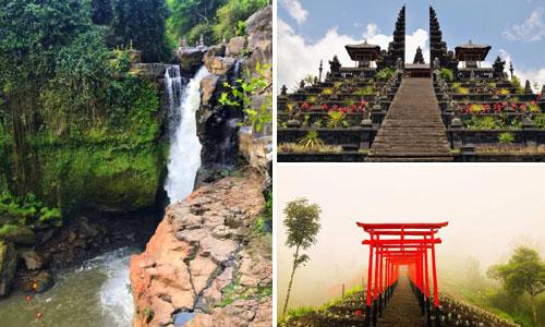 Paket air terjun Blangsinga - Besakih tour