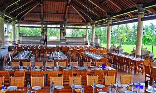Restaurant Bebek Bengil di Ubud Bali