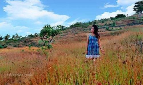 Objek wisata Bukit Nunggul di Nusa Penida