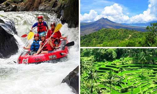 Paket Ayung Rafting - Kintamani Tour