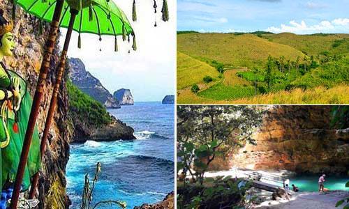 Paket private tour ke Nusa Penida Selatan