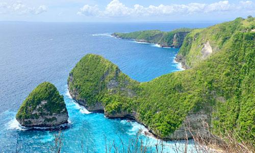 Paluang Cliff di Nusa Penida