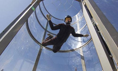 Sensasi terbang - Indoor Skydiving bersama Fly Station Bali