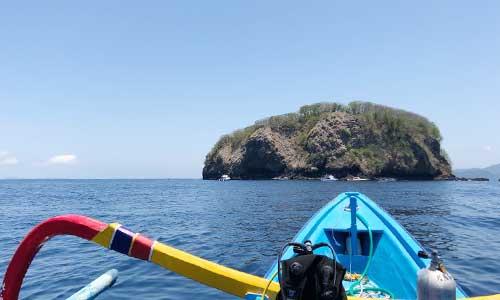 Tempat diving di Gili Tepekong