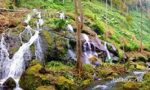 Air terjun desa Langgahan di Kintamani
