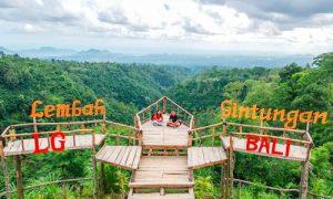 Anjungan Lembah Gintungan di Karangasem Bali