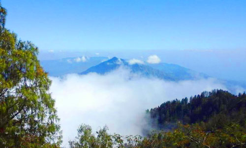 Gunung Abang di Kintamani Bangli