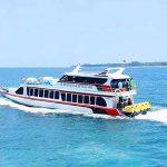 Transportasi fast boat di pulau Bali