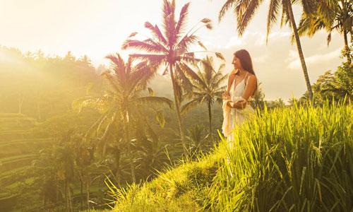 Alam indah di Desa Visesa Ubud