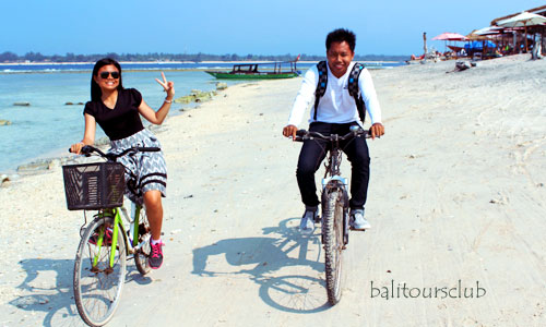 Cycling tour di Gili Trawangan