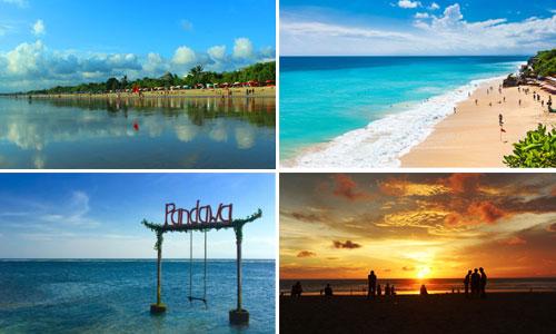 Objek wisata Pantai di Bali selatan