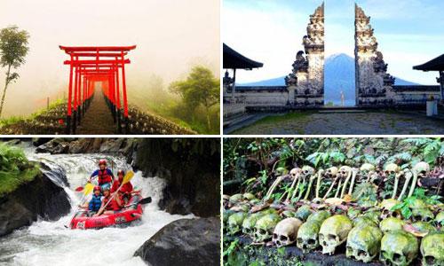 Tempat rekreasi di Bali