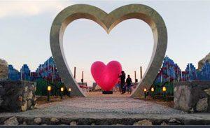 Taman Batu Cinta desa Kutuh