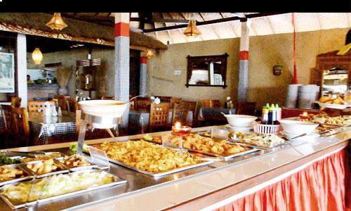 Menu halal di Restoran Bedugul Bali