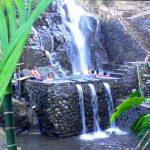Objek wisata air terjun Pelangi di Bangli
