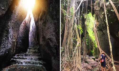 Objek wisata air terjun Tukad Barong